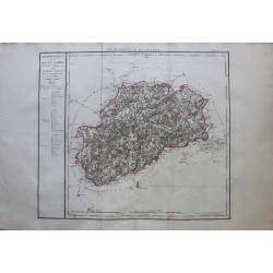 Map of LA HAUTE SAONE (70)