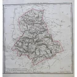 Map of LA HAUTE VIENNE (87)