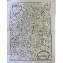 Map of Alsace - 1700 - by...