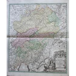 Map of the Burgundiae...