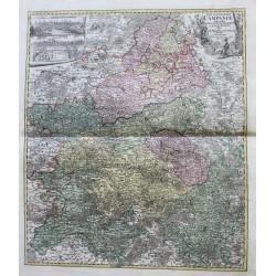Carte du Tabula Geographica...