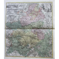 Map of Tabula Geographica...